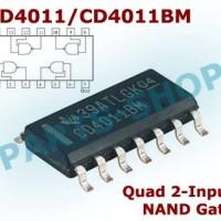 CD4011BM SMD CD4011 CMOS Quad NAND Gate 4011 IC Gerbang SOP-14