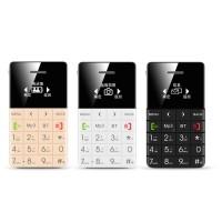 """Qmart Q5 Ultra Slim 1"""" Mini Pocket Card Phone"""