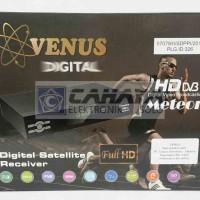 Receiver TV Venus Meteor HD Powervu Parabola C band Vuvu
