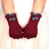 Jual sarung tangan wanita untuk winter / musim dingin touchscreen Murah