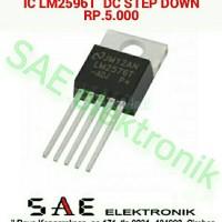 IC STEP DOWN LM2596T CONVERTER INVERTER