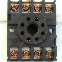 Socket relay omron bulat 8p 8 p 8pin 8 pin