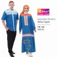 Baju Sarimbit Couple Muslim 33 34 35