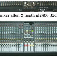 Mixer Allen & H3adt GL2400 (32 Channel)