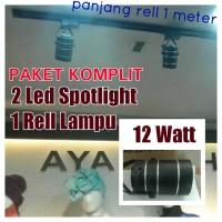 Lampu Spotlight Paket KOMPLIT