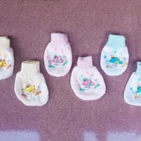 Sarung Tangan Kaki Bayi Baby Perlengkapan Baru Lahir Newborn Baju Mura
