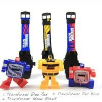 Jam Tangan Robot Transformer / Jam Anak Transformer/ Jam Keren