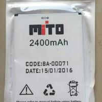 Battery MITO BA-00071 2400 mah Batere Baterai