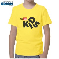 Kaos Youtube Anak - Youtube Kids Logo - By Crion
