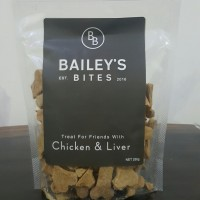harga Baileys Bites Chicken and Liver 250g | Snack anjing | dog treat | Tokopedia.com
