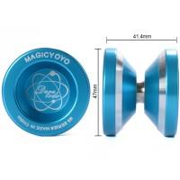 Th107. Magic Yoyo N8 Yoyo Ball Alumunium - Biru