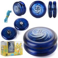 Th181. Magic Yoyo D1 Responsive Looping Yoyo Ball - Biru