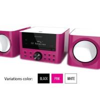 Sharp Audio XL-LS703BH(PK) - Pink Portable Micro System