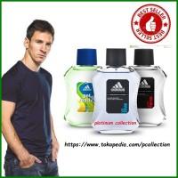 Jual (Promo buy 1 get 1) Parfum Original Adidas untuk Pria EDT 100 ML Murah