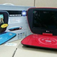 DVD PORTABLE GMC, BISA TV, RADIO DAN 300 GAMES