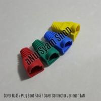 Cover RJ45 / Plug Boot RJ45 / Cover Connector Jaringan LAN