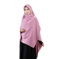 Jilbab Segi Empat Premium Ruman Hijab Premium Lebar Syar'i Bandung