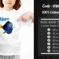 Kaos Anak Finding Dory - FDR-006