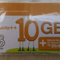 harga Voucher Three 10GB, Kuota Internet 3 data Tri 10 GB 24 Jam + Pulsa 20r Tokopedia.com