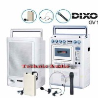 harga Portable Wireless Amplifier Dixon Gv1810 Tokopedia.com