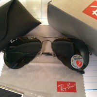 Ray-ban RB3025 004/58 58-14 Polarizer Aviator Sunglasses Original