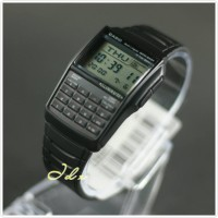 Jam Tangan Data bank Original Casio DBC 32 1A Calculator