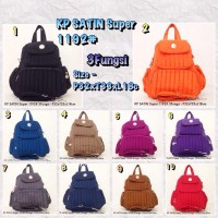 KIPLING KP Satin 1192 Handbag 3Fungsi