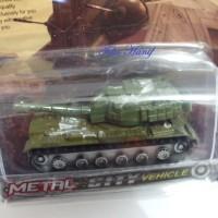 Diecast Miniatur Replika Tank A