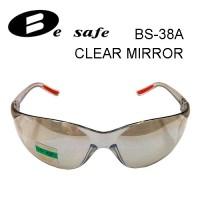 Kacamata Safety BeSafe BS38A Clear Mirror