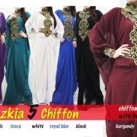 Sazkia Jesica Chiffon Kaftan Dress Gamis