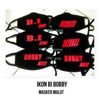 Masker Mulut Kpop IKON BI BOBBY