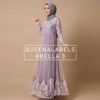abella vol.3 ori by queenalabels (gamis/busana muslim/baju/pakaian)