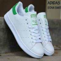 Sepatu Adidas Stan Smith White Green Men