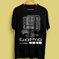 harga Kaos Kamera Go Pro Hero Sketch ( Sepeda, Keren, Kamera, Video, Gopro , Tokopedia.com