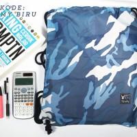 Harga army biru tas serut string bag tas olahraga tas | WIKIPRICE INDONESIA
