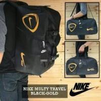 Harga travelbag tas olahraga nike black | WIKIPRICE INDONESIA