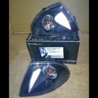 BM106-B0WW2-BH BMW E46 4D/WAGON 99-01 - CORNER LAMP - CRYSTAL BLACK