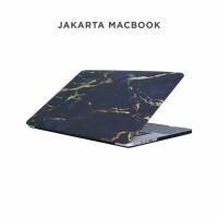 Jual Case Macbook Pro 13 Inch Black Yellow Marble Murah