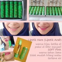 Hare Arab Lipgloss Pelembab & Lipstik Pewarna Natural Alami Nipple