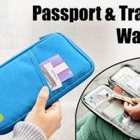 Tas Cover Dompet Passport Paspor Organizer Case Wallet Travel (DPO)