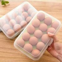 Tempat Telur 15 Sekat Tersusun Rapi Dan Tidak Mudah Pecah