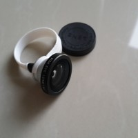 Efek Lensa cembung / Fisheye lens u/ kamera HP handphone. u/ souvenir