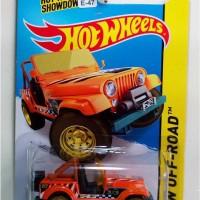 harga E-47 Hot Wheels Jeep CJ-7 Orange T-Hunt Reguler Tokopedia.com