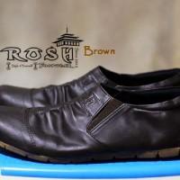 harga Sepatu ROSH Footwear Naruto Slip On Coklat Casual Pria Original Tokopedia.com