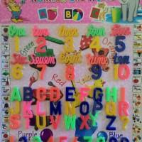 play and learn number and words alphabet bermain belajar angka huruf