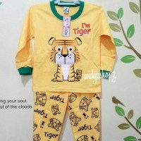 Baju Tidur Anak (piyama, Baju Anak, Setelan, Kaos Anak)
