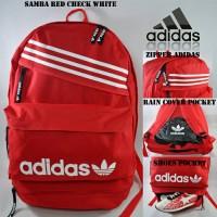 harga Tas Ransel Adidas Samba Merah Tokopedia.com
