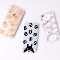 Cute Cartoon Totoro Case Iphone SE/5/5S/6/6S/6Plus/6SPLus