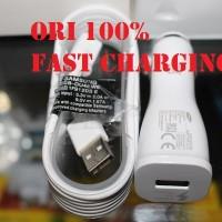 Jual charger mobil fast charging samsung Original note 4 / Note 5 Murah