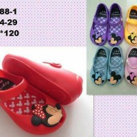 harga Sepatu Jelly Shoes Anak Perempuan Minnie Mickey Kids Murah Tokopedia.com